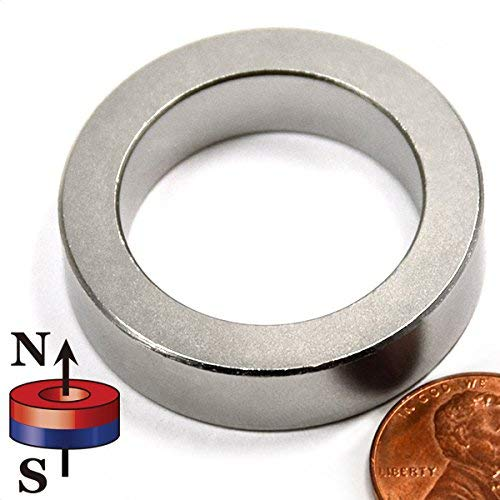 (CMS Magnetics Super Strong Neodymium Magnets Ring N45 1-1/2