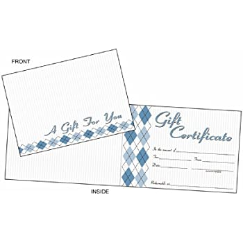 Amazon adams gift certificate cards 20 folded cards and adams gift certificate cards 20 folded cards and envelopes 625 x 450 inches yadclub Images