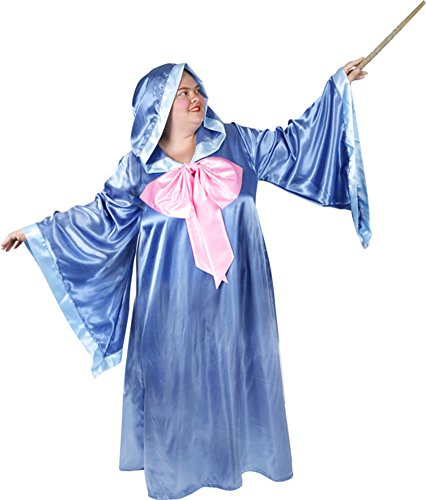 Women's Fairy Godmother Halloween Costume (Size: Plus
