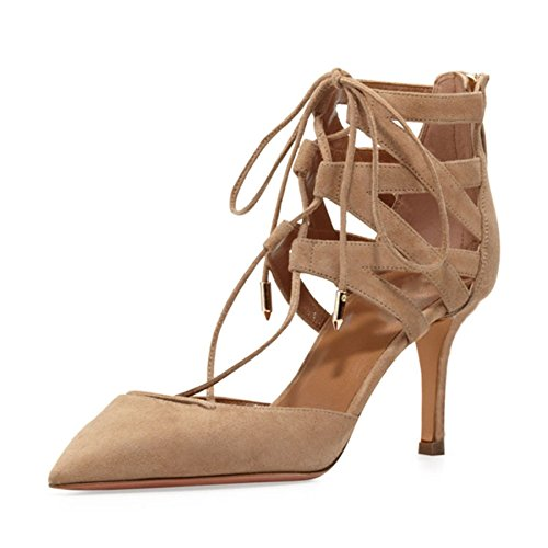 T Fête En Bootie Beige Dames Minitoo À Chaussures Pompes Mode La Robe bracelet Cheville Cuir Ma52519 Zippée tPwOYqP