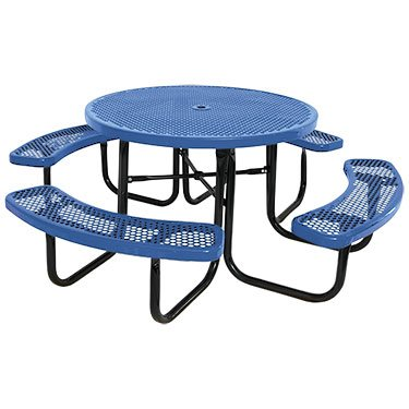 Round Commercial Picnic Table - Kirby Built Products 46