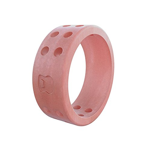 (Women's Misty Rose Perforated Silicone Ring Size 08)