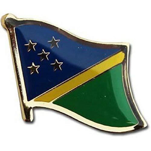 - Lapel pin - Lapel pins for Women Men - Flag - Solomon Islands Country