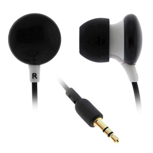 BIRUGEAR Universal Stereo Candy Soft Gel Headset 3.5mm - Bla