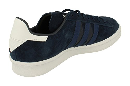 adidas Originals White Mountaineering WM Campus 80s Mens Trainers Sneakers (UK 11.5 US 12 EU 46 2/3, Navy Blue White BA7517)