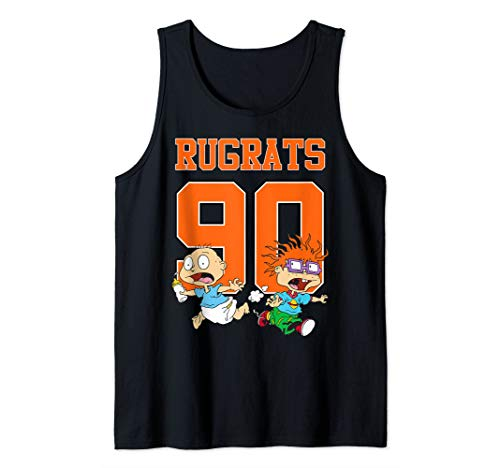 Rugrats Classic Basketball Jersey Tommy, and his friends Tank Top]()