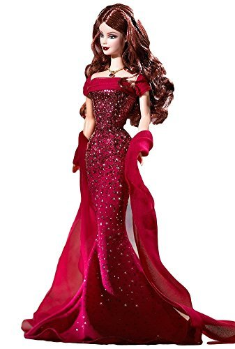 Barbie Birthstone Collection July Ruby Doll