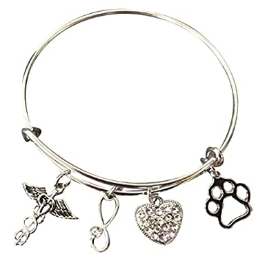 Veterinarian Gifts- Veterinarian Bracelet - Veterinary Technician Gifts- Veterinary Gifts for Women