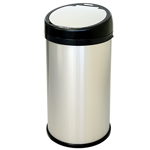 13 gallon stainless milk can - 1