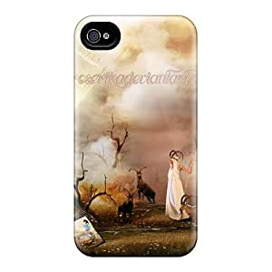 New Premium KBIvLyH6086eRcoQ Case Cover For Iphone 4/4s/ Statue Of Love Protective Case Cover