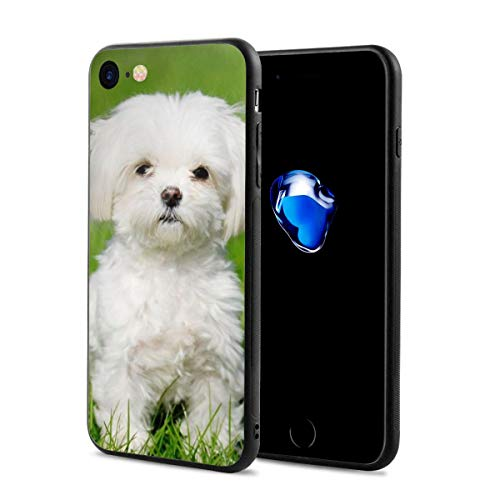 - iPhone 7 Case/iPhone 8 Case, Dog Canine Slim-Fit Ultra-Thin Shockproof Skid Proof Anti Fingerprint Lightweight Protective Case Compatible for iPhone 7/8
