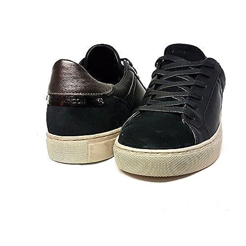 Crime London Zapatillas de Piel Para Mujer Negro Negro Negro Size: 36 IxIY7Mesni