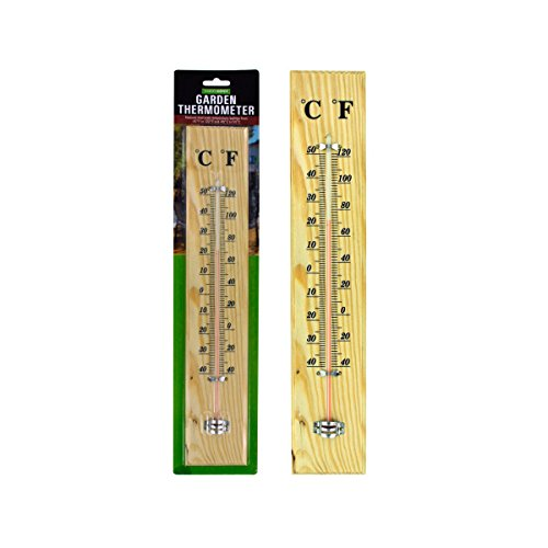 Wooden Garden Thermometer - Pack of 24
