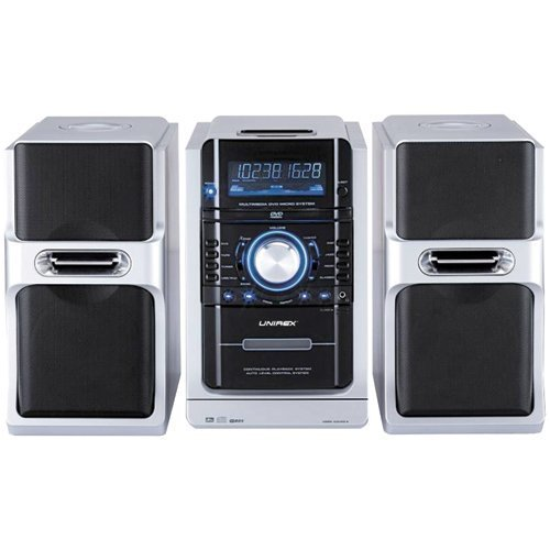 UPC 789217300782, Unirex Urx-78 Micro Audio System with DVD Player and Karaoke Function