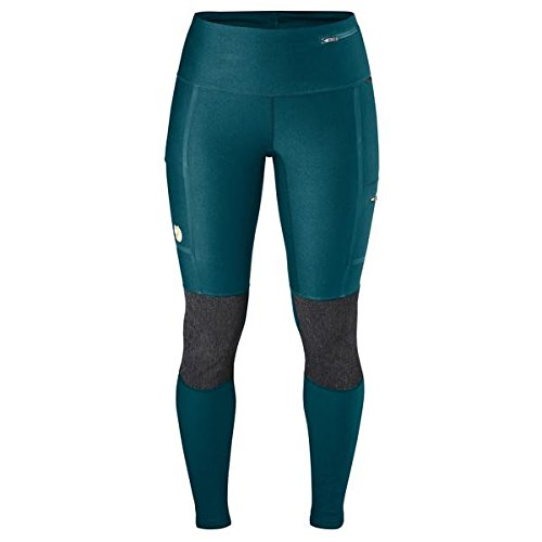 Fj¿llr¿ven Women's Abisko Trek Tights Glacier Green Small R by Fj¿llr¿ven (Image #3)