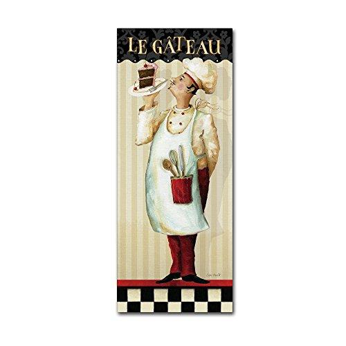 Trademark Fine Art Chef's Masterpiece IV by Lisa Audit, 10x24-Inch