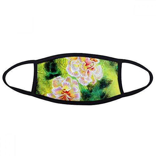 DIYthinker Fascination Flower Painting Mouth Face Anti-dust Mask Anti Cold Warm Washable Cotton Gift Fascinations Gear