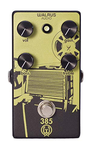 Walrus Audio 385 Overdrive Guitar Effects Pedal (Best Overdrive Pedal For Humbuckers)