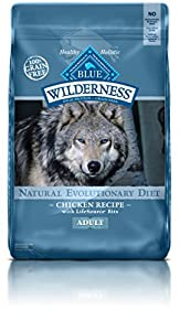 Blue Buffalo Wilderness Adult Dog Chicken Formula - Grain Free 24 lb