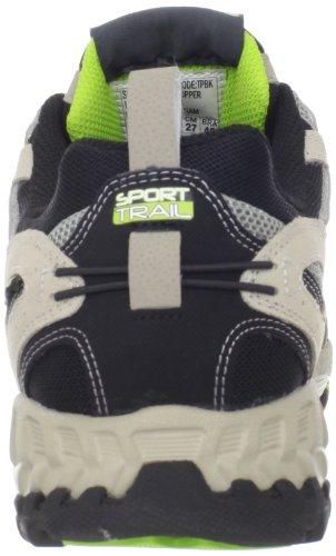 Skechers Sport Heren Spider Sneaker Taupe / Zwart