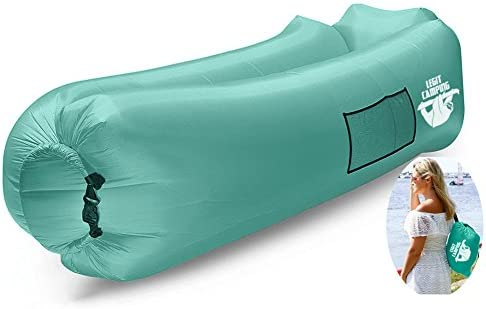 Camping Inflatable Lounger Carrying Outdoors product image