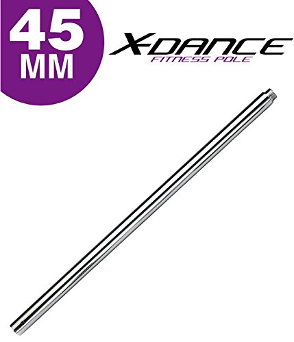 X-Dance 45mm Portable Dance Fitness Pole B 41'' Extension Piece 0006 by X-Dance