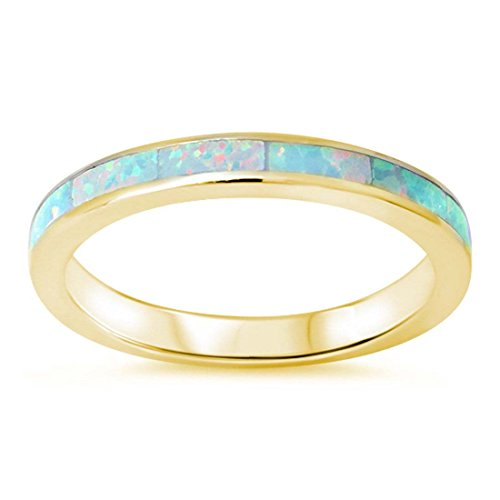 Eternity Engagement Created Yellow Sterling product image