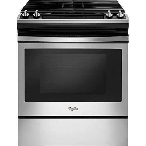 Price comparison product image Whirlpool WEG515S0FS 5.0 Cu. Ft. Slide-In Stainless Steel Gas Range