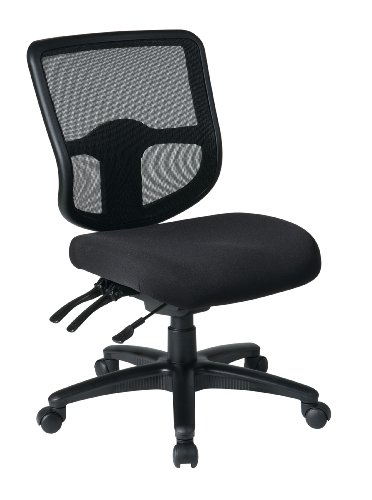 Office Star Ergonomic Task Chair with ProGrid Back and Ratch
