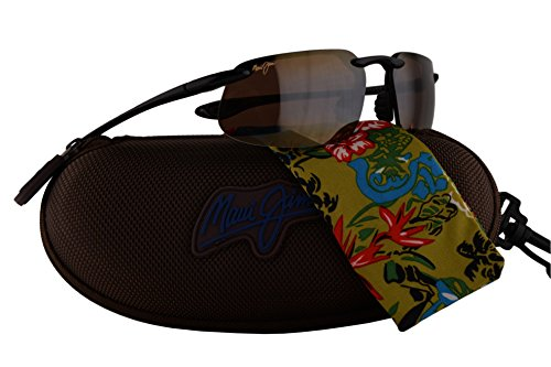 Maui Jim Kanaha Sunglasses Gloss Black w/Polarized Bronze Lens - Kanaha Sunglasses