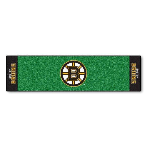 (FANMATS NHL Boston Bruins Nylon Face Putting Green Mat)