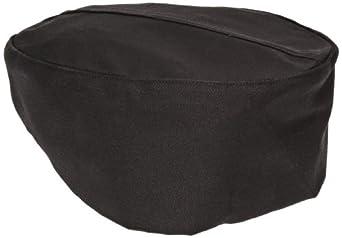 Chef Revival H008 QC Lite Poly Cotton Blend Pill Box Hat, Regular, Black