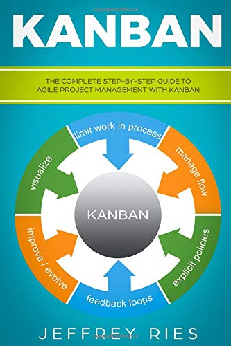 Kanban The Complete Step-by-Step Guide to Agile Project Management with Kanban (Lean Guides for Scrum, Kanban, Sprint, DSDM XP & Crystal) [Ries, Jeffrey] (Tapa Blanda)