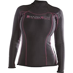 Sharkskin Ladies Chillproof Long Sleeve Shirt Wetsuit