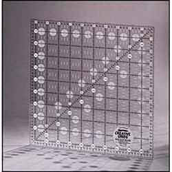 Creative Grids 10 5 X 10 5 Inch Square Quilt Ruler