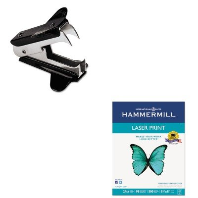 KITHAM104604UNV00700 - Value Kit - Hammermill Laser Print Office Paper (HAM104604) and Universal Jaw Style Staple Remover (UNV00700)