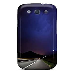 LQWIZwO22364INdZn Anti-scratch Case Cover KarenJohnston Protective Lightning Road Case For Galaxy S3