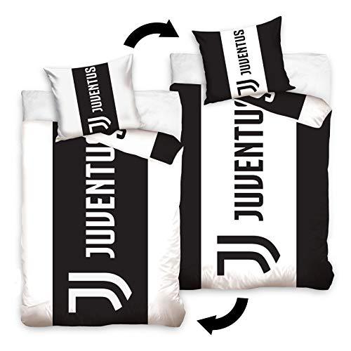 Juventus FC Single Cotton Unfilled Duvet Cover Set