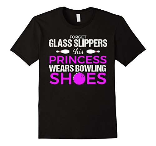 This Princess Wears Bowling Shoes | Funny Bowling Tshirt from Funny Bowling Shirts for Women