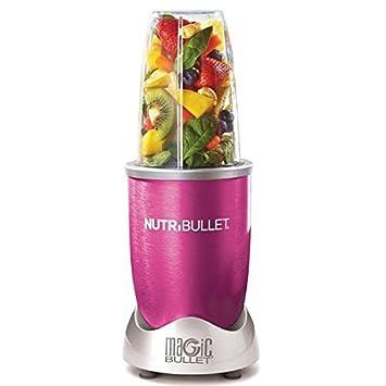 NutriBullet Roze Batidora de vaso 600W Rosa - Licuadora (10000 RPM, Batidora de vaso, Rosa, 600 W, 3 pieza(s)): Amazon.es: Hogar