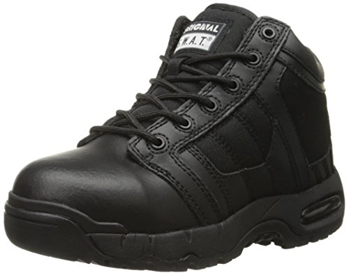Original S.W.A.T. Men's Metro Air 5 Inch Side-Zip Safety Military and Tactical Boot, Black, 6 D US