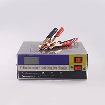 Ocamo Cargador de batería automático 110V 220V a 12V 24V ...
