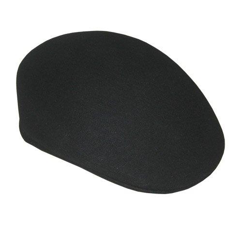 5e103580fbd Amazon.com  Black Felt Ascot Hat  Small Medium  Home   Kitchen