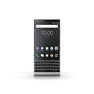 Blackberry Key 2 Silver 64GB Single Sim BBF100-2 GSM Factory Unlocked (AT&T/Tmobile) - US Warranty