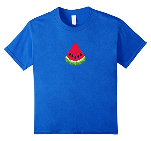 unisex-child Vintage Watermelon Shirt Retro Watermelon Seeds Icon Gift 6 Royal Blue