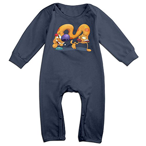 VanillaBubble Catdog For 6-24 Months Baby Cool Romper Navy Size 12 (Catdog Halloween Costumes)