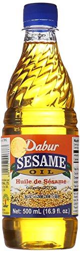 Dabur Sesame Oil - Gingelley (Til) Oil / 500ml., 16.9oz. by Dabur