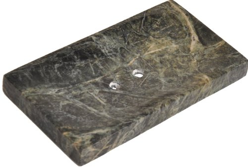 Stone Onyx Bath Sink (Green Marble Soap Dish - Polished and Shiny Marble Dish Holder – Beautifully Crafted Bathroom Accessory – by CraftsOfEgypt)