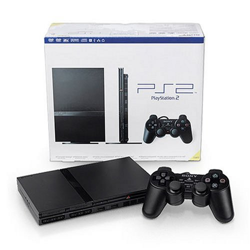 Watch Dvds Ps2 - PlayStation 2 Console Slim - Black