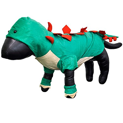 Casual Canine ZW4223 20 43 Dogosaurus Costume, Large, Green